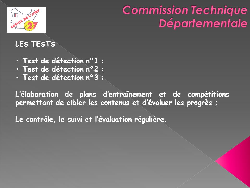 Commission Technique Départementale