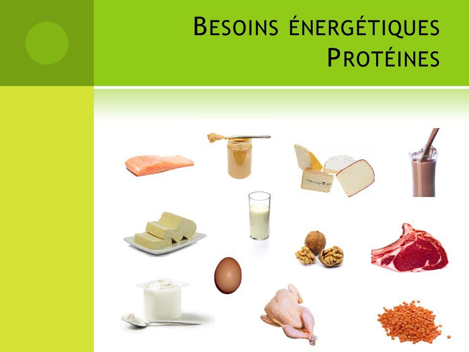 Besoins énergétiques Protéines