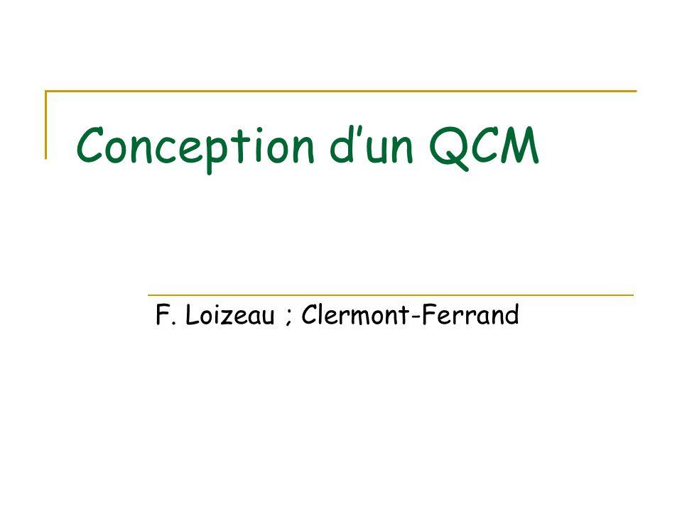F. Loizeau ; Clermont-Ferrand
