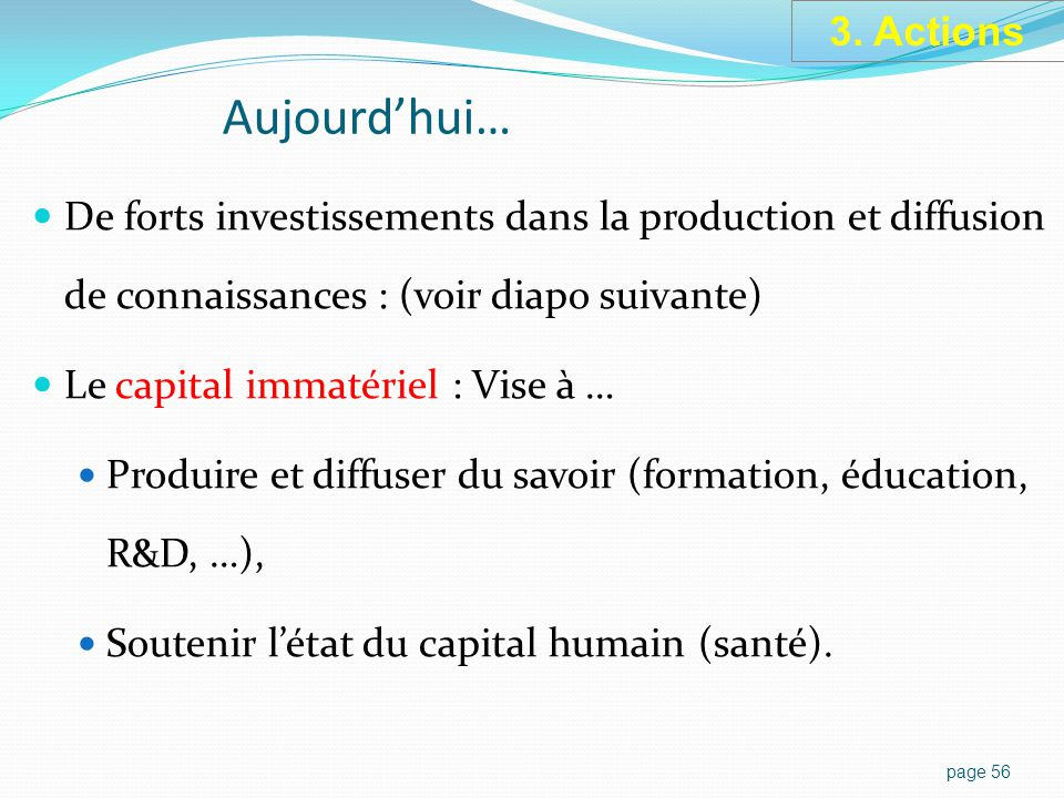 Capital immatériel = biens intangibles