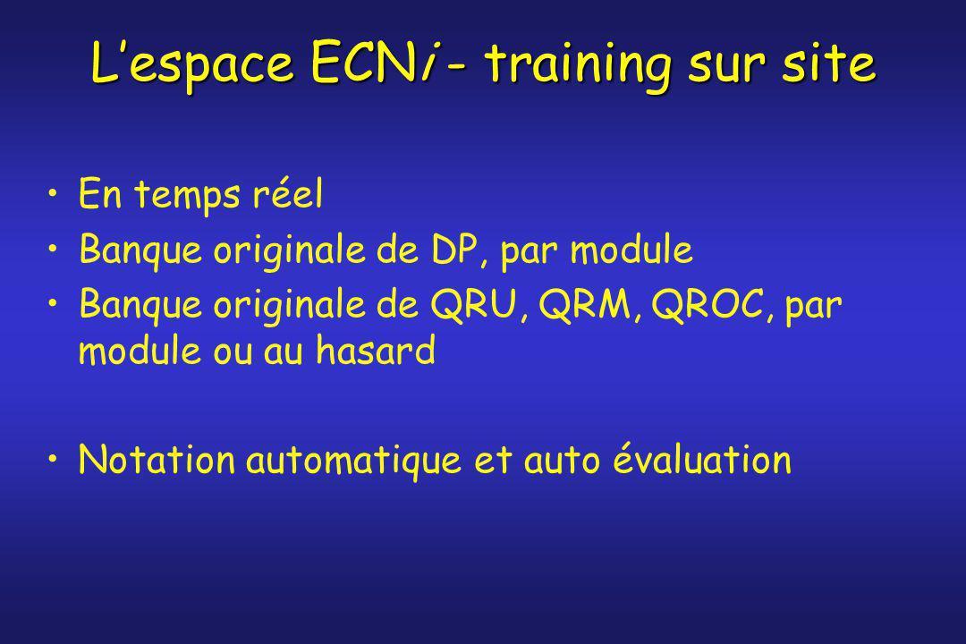 L'espace ECNi - training sur site
