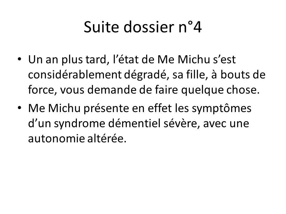 Suite dossier n°4