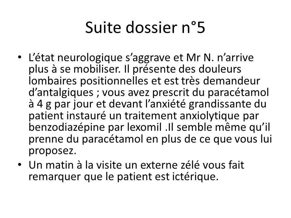 Suite dossier n°5