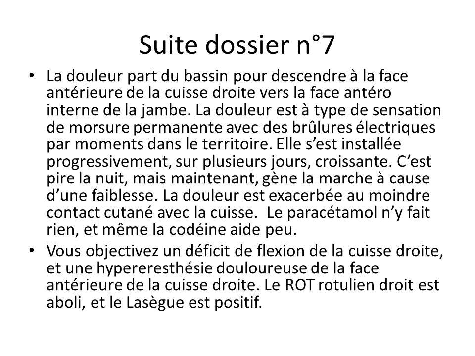 Suite dossier n°7