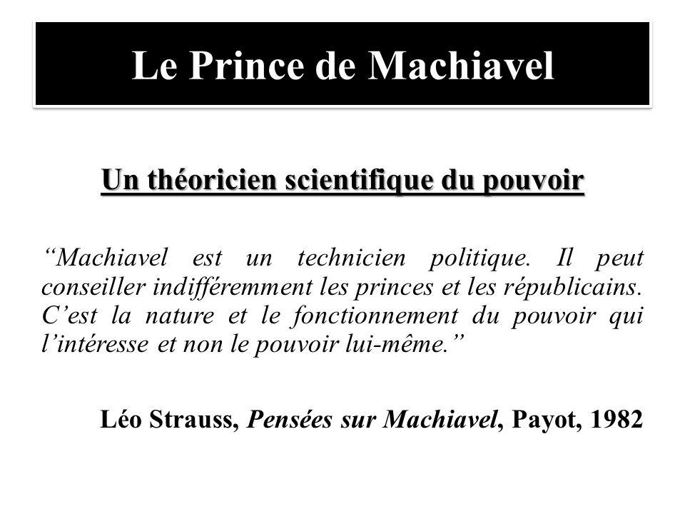 Un théoricien scientifique du pouvoir