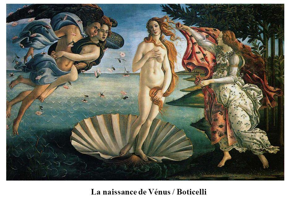 La naissance de Vénus / Boticelli