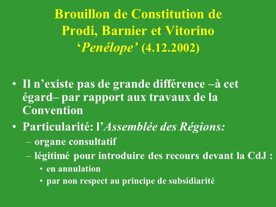 Brouillon de Constitution de Prodi, Barnier et Vitorino 'Penélope' (4