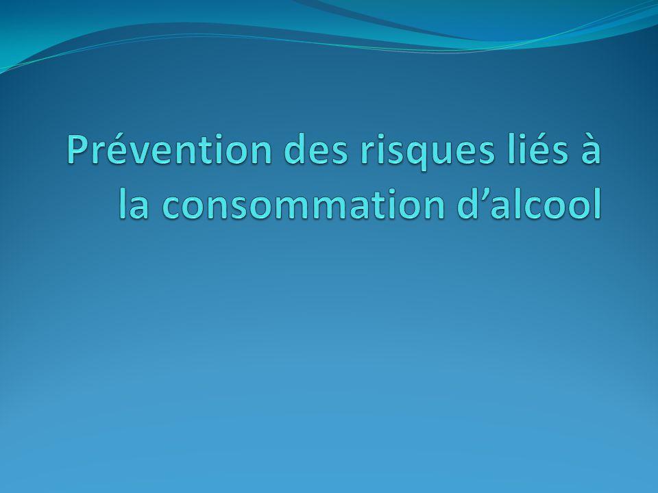 Prévention des risques liés à la consommation d'alcool