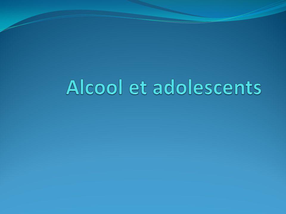 Alcool et adolescents