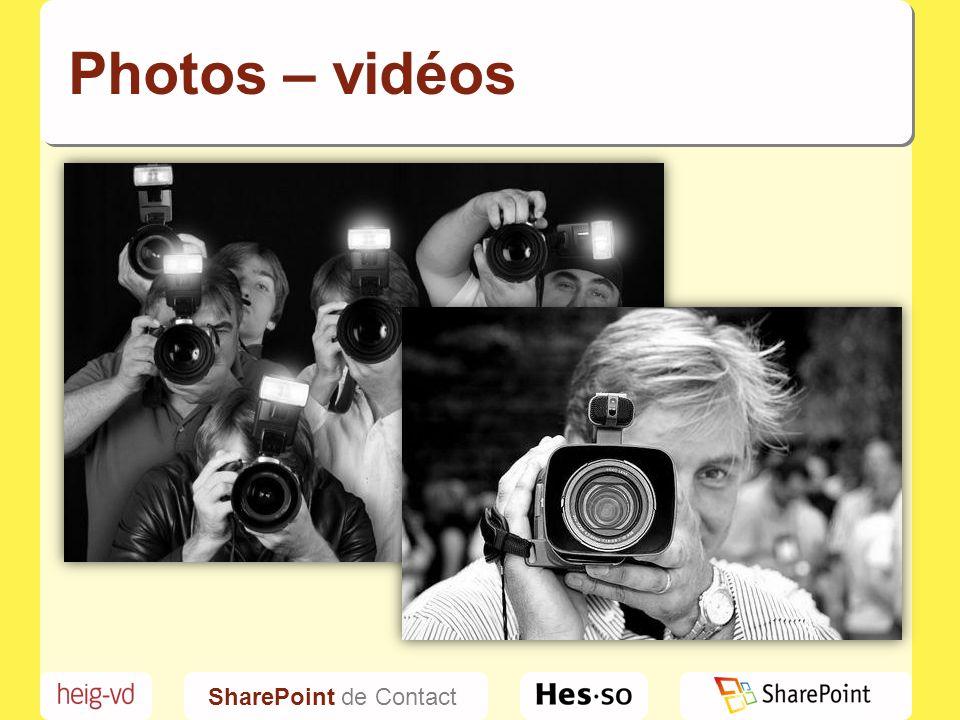 Photos – vidéos