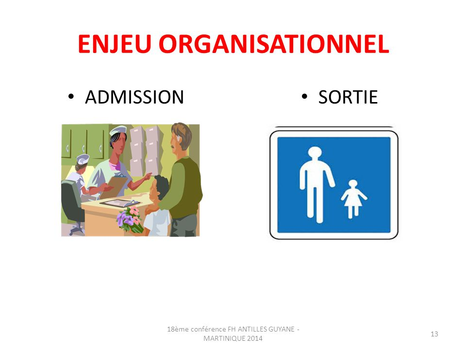 ENJEU ORGANISATIONNEL