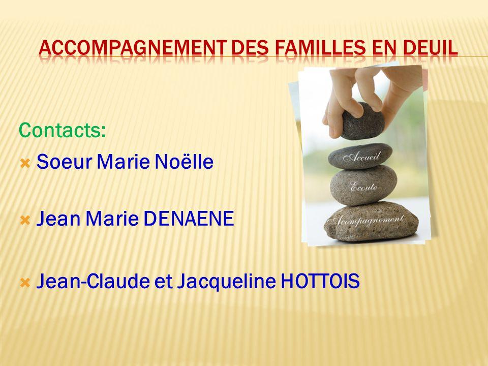 ACCOMPAGNEMENT DES FAMILLES EN DEUIL