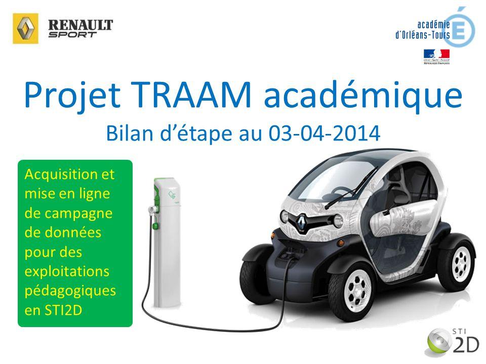 Projet TRAAM académique
