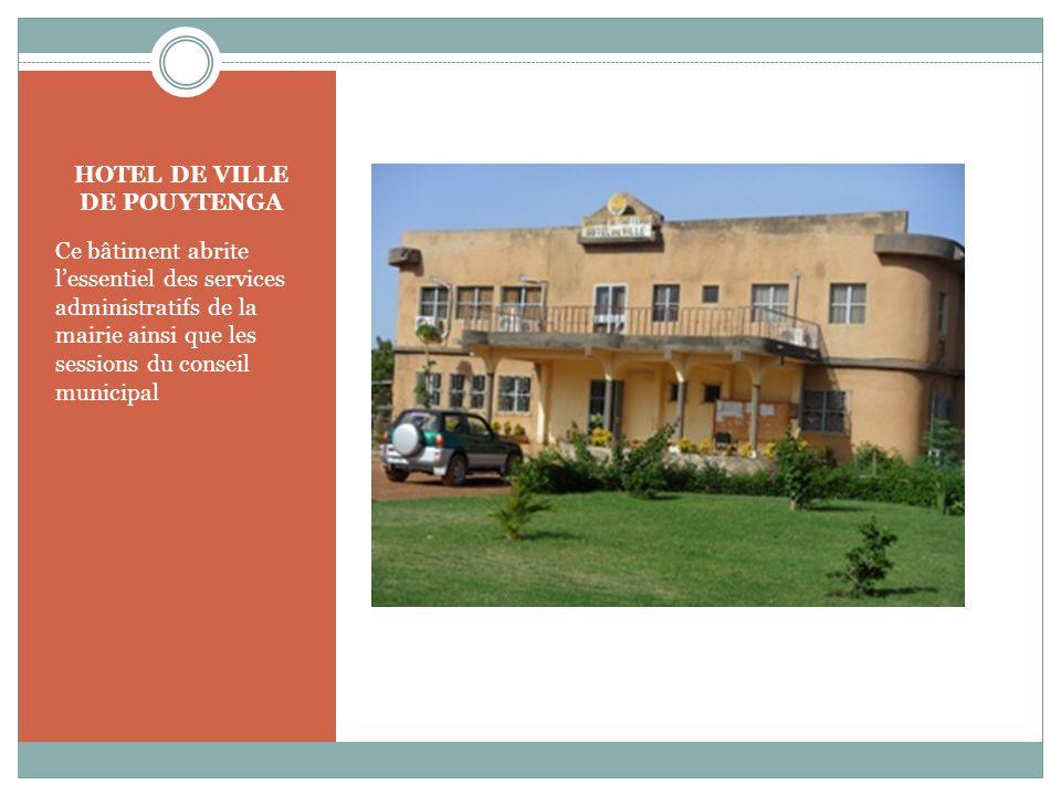 HOTEL DE VILLE DE POUYTENGA