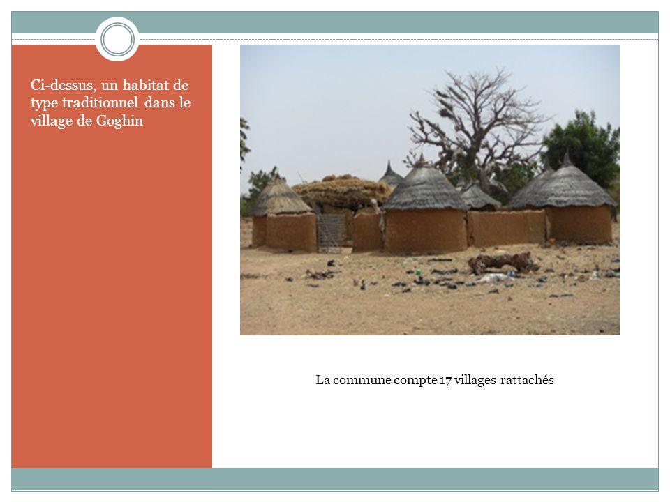 La commune compte 17 villages rattachés