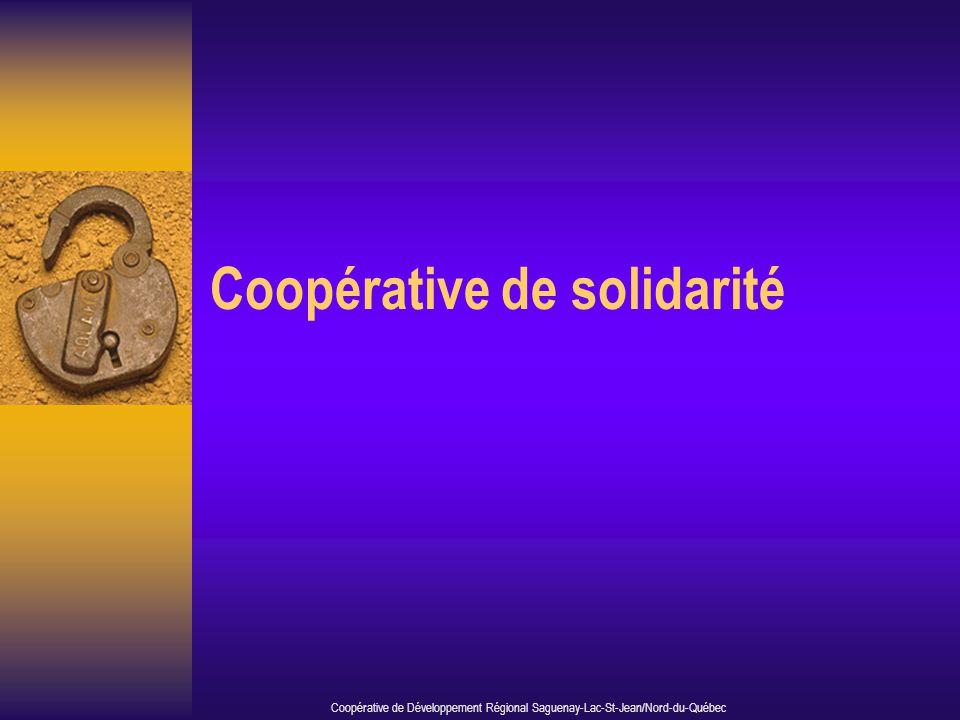 Coopérative de solidarité