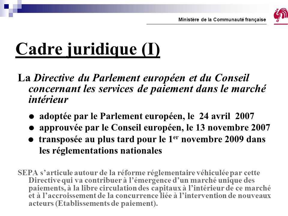 Ministère de la Communauté française