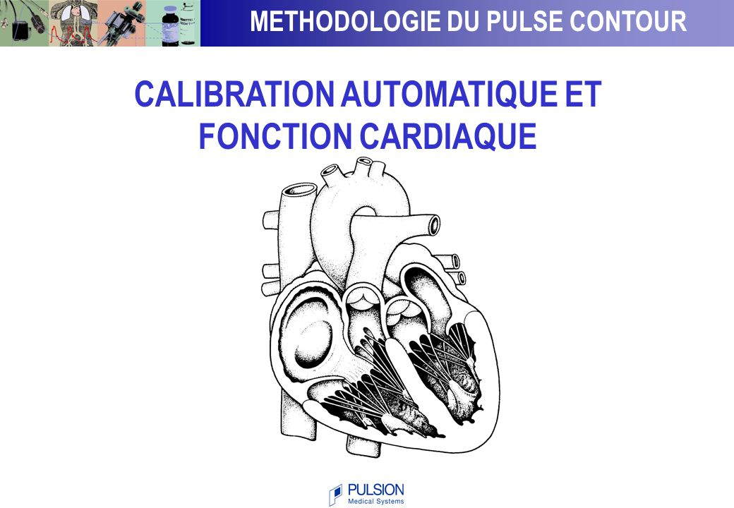 METHODOLOGIE DU PULSE CONTOUR CALIBRATION AUTOMATIQUE ET