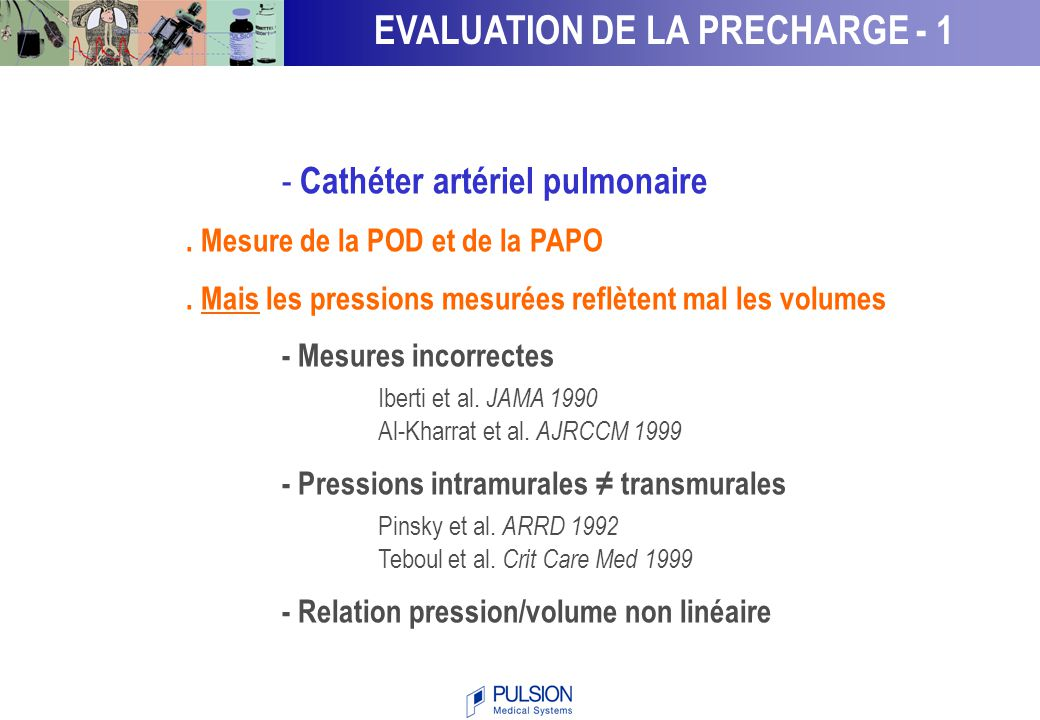 EVALUATION DE LA PRECHARGE - 1