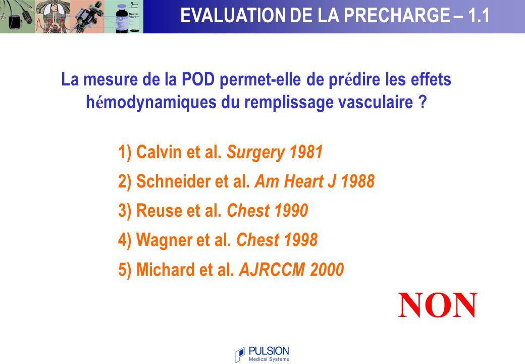 NON EVALUATION DE LA PRECHARGE – 1.1