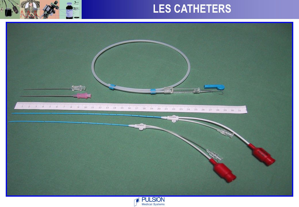 LES CATHETERS