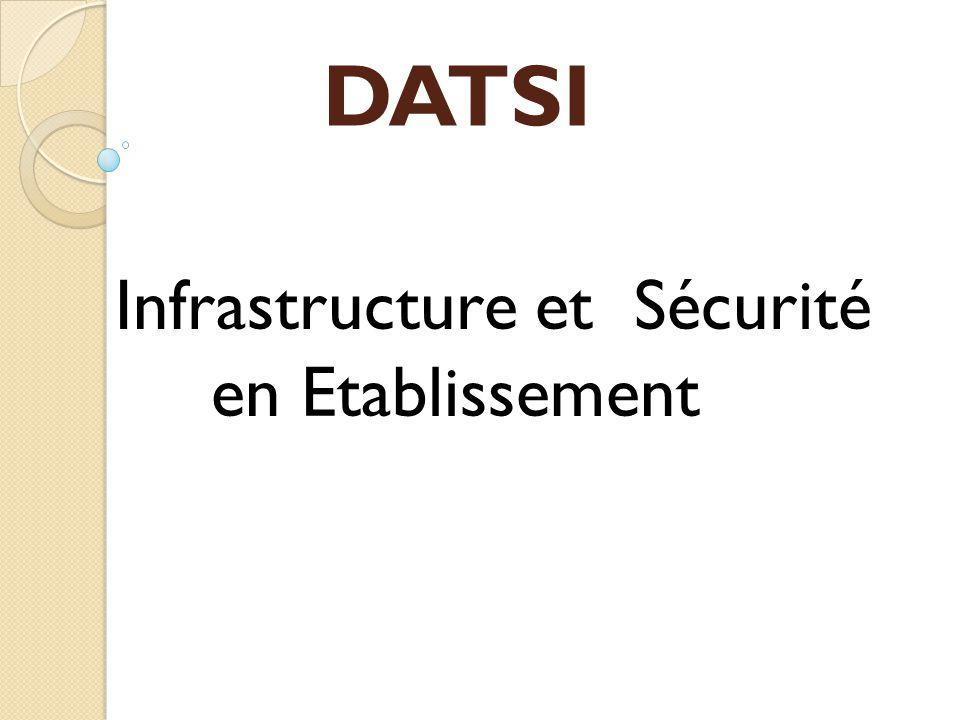 DATSI Infrastructure et Sécurité en Etablissement