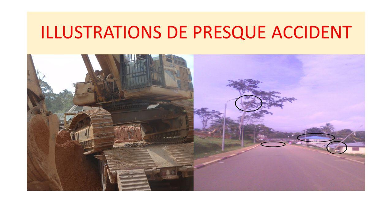 ILLUSTRATIONS DE PRESQUE ACCIDENT
