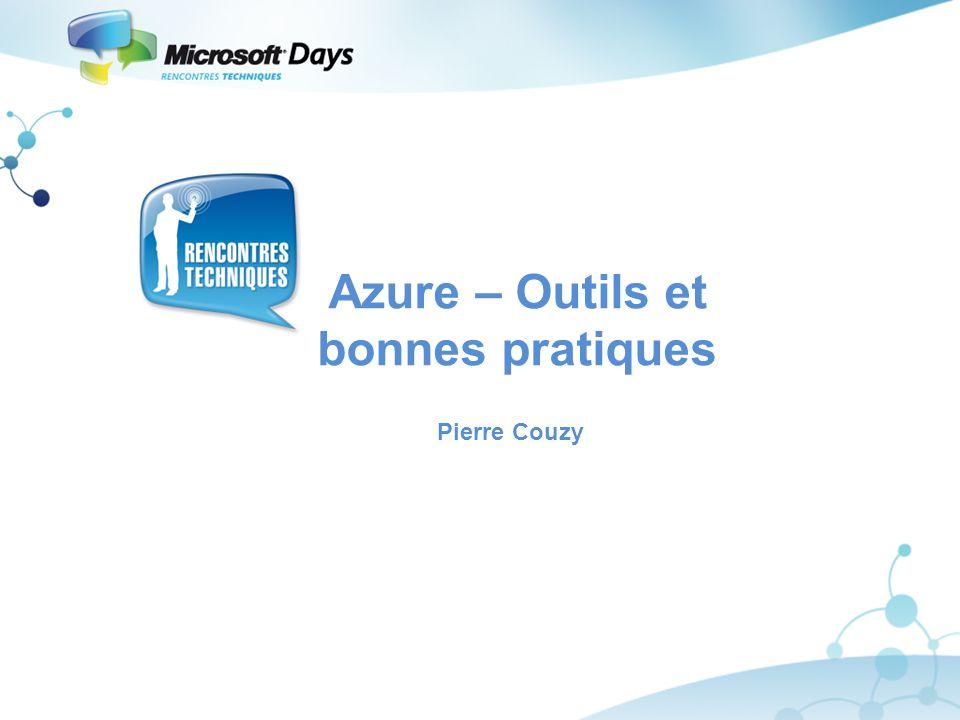 Azure – Outils et bonnes pratiques