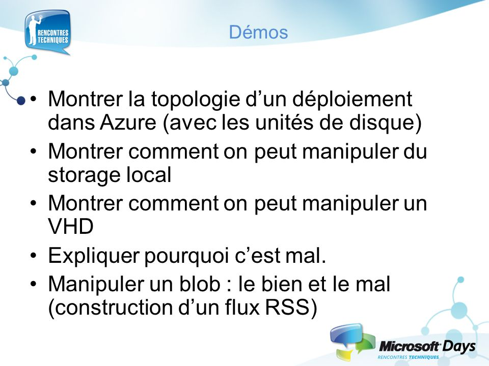 Montrer comment on peut manipuler du storage local