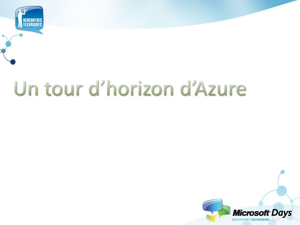 Un tour d'horizon d'Azure