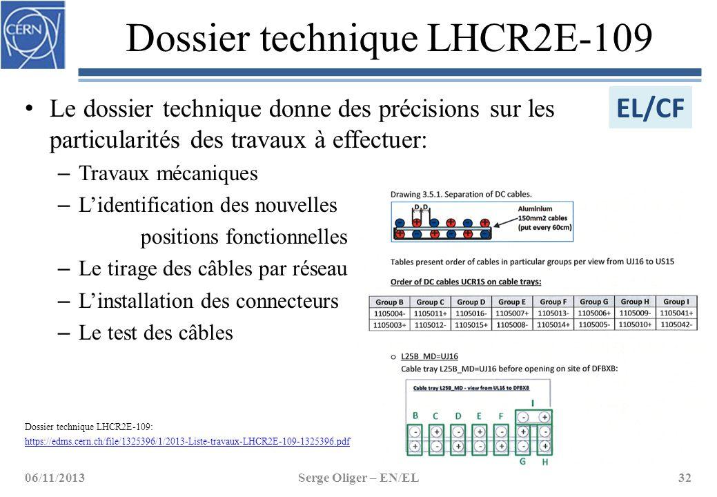 Dossier technique LHCR2E-109