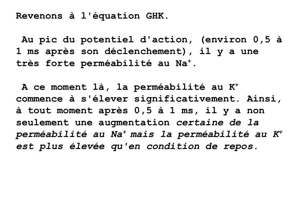 Revenons à l équation GHK.