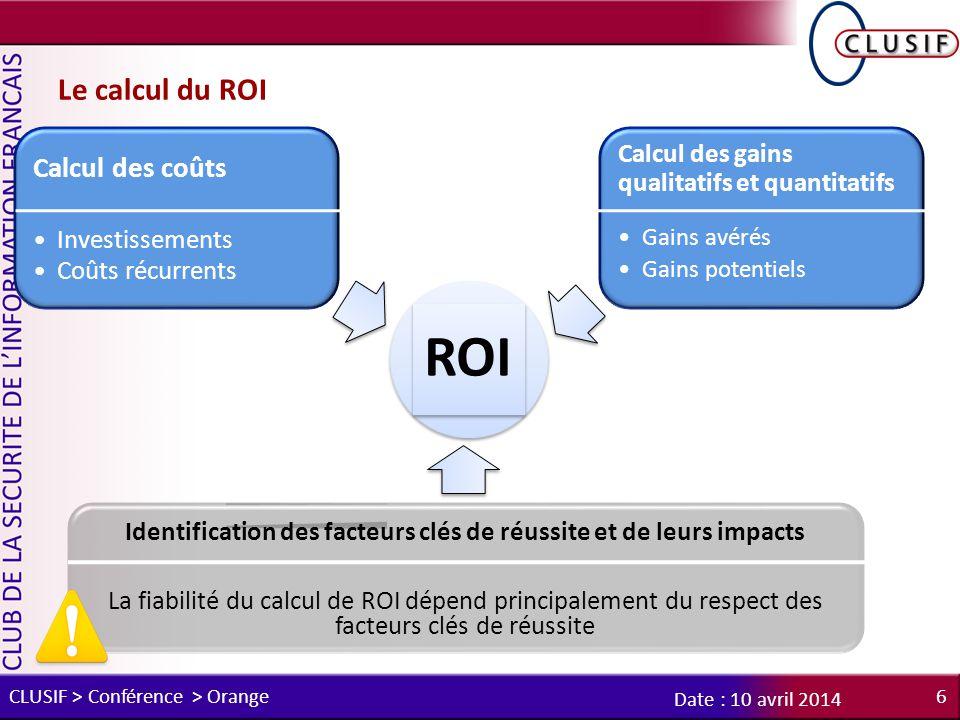 Identification des facteurs clés de réussite et de leurs impacts