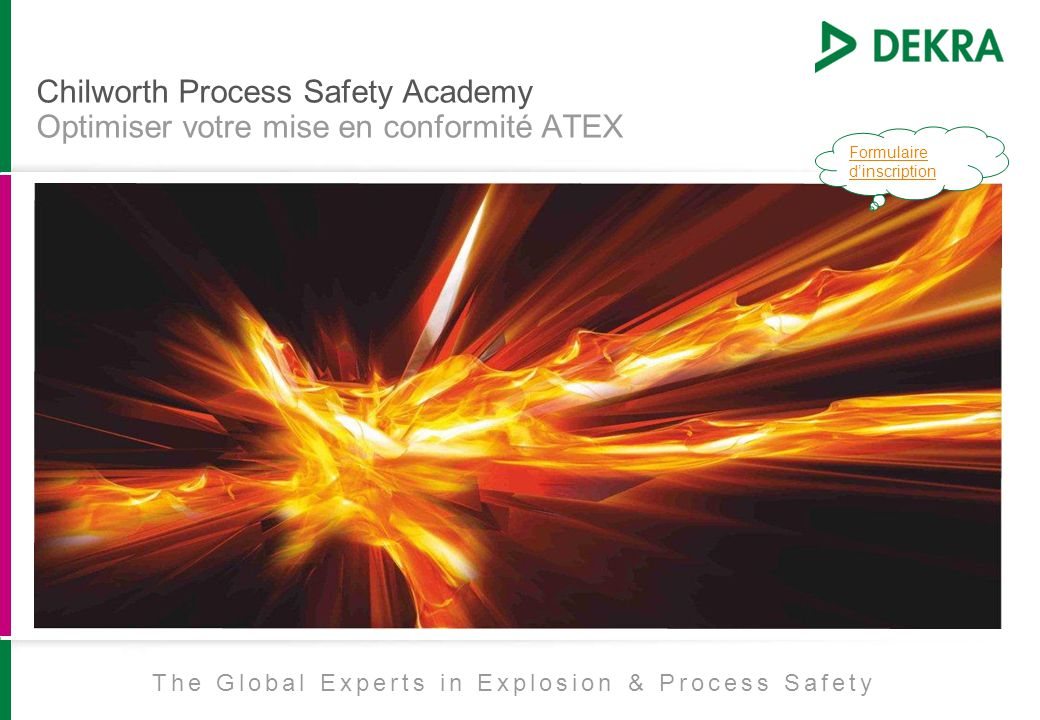 The Global Experts in Explosion & Process Safety