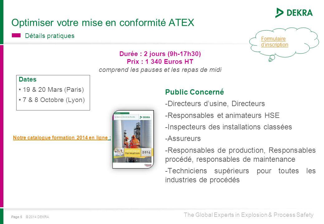 Optimiser votre mise en conformité ATEX