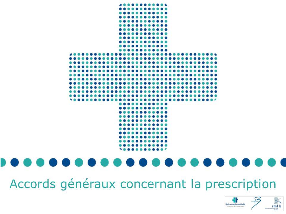 Accords généraux concernant la prescription