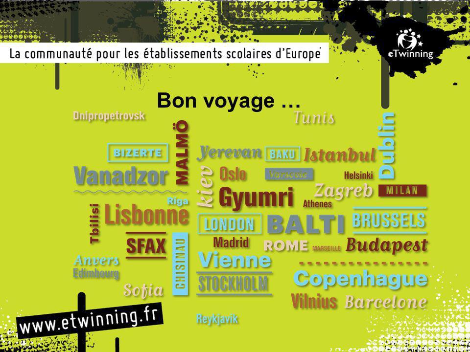 Bon voyage …