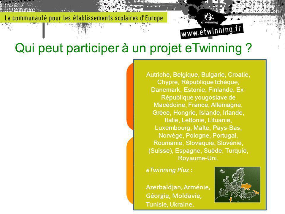 Qui peut participer à un projet eTwinning