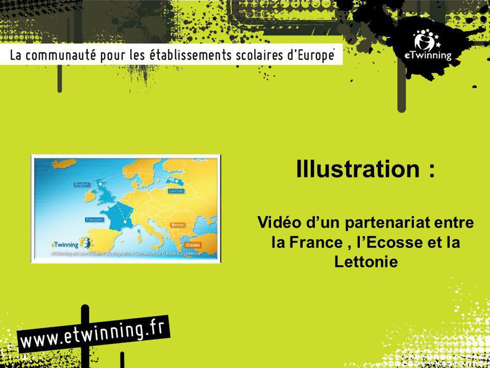 la France , l'Ecosse et la Lettonie