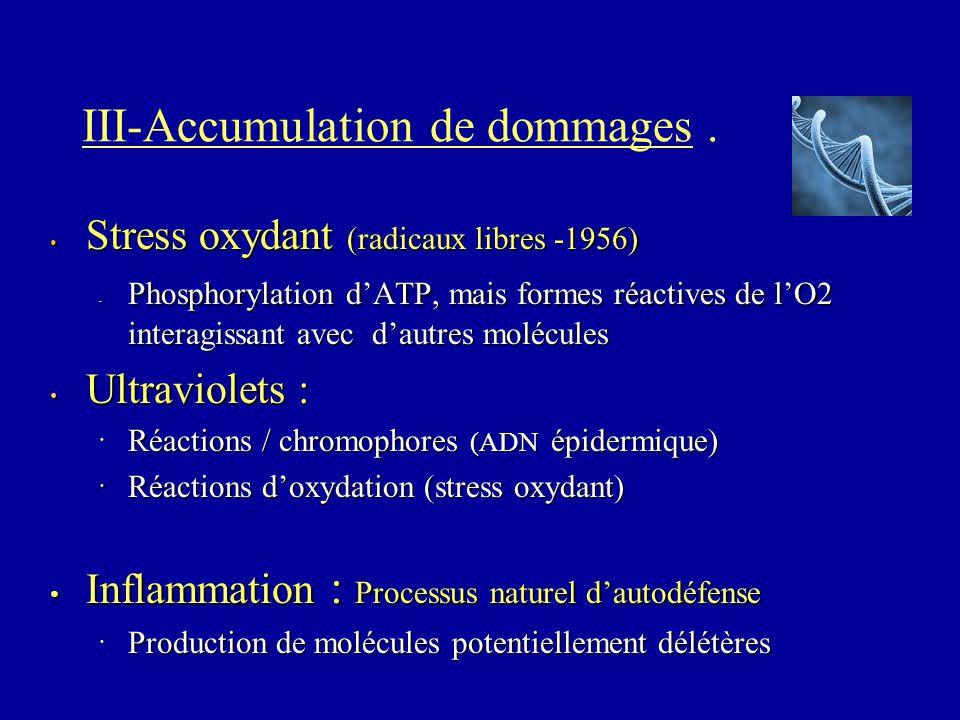 III-Accumulation de dommages .