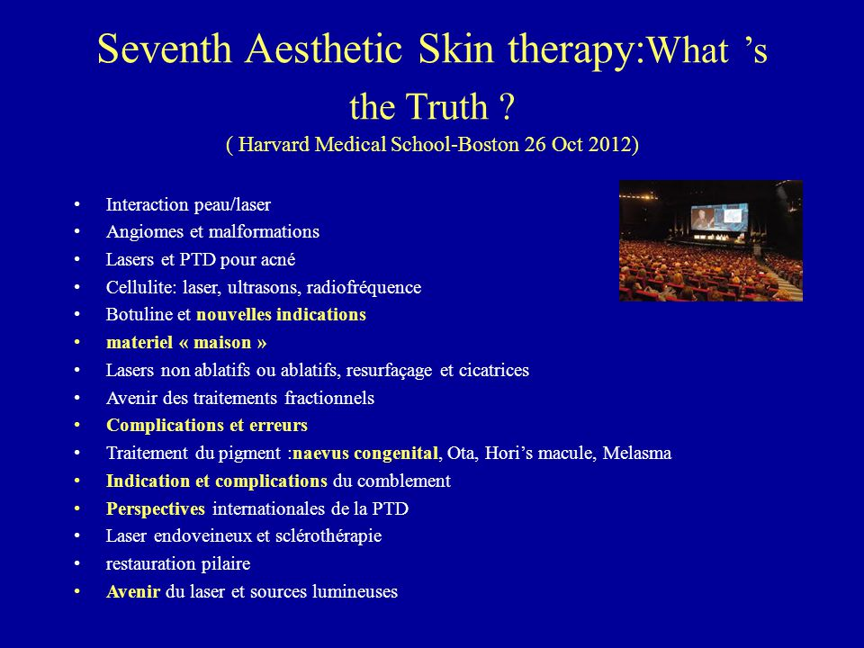Seventh Aesthetic Skin therapy:What 's the Truth