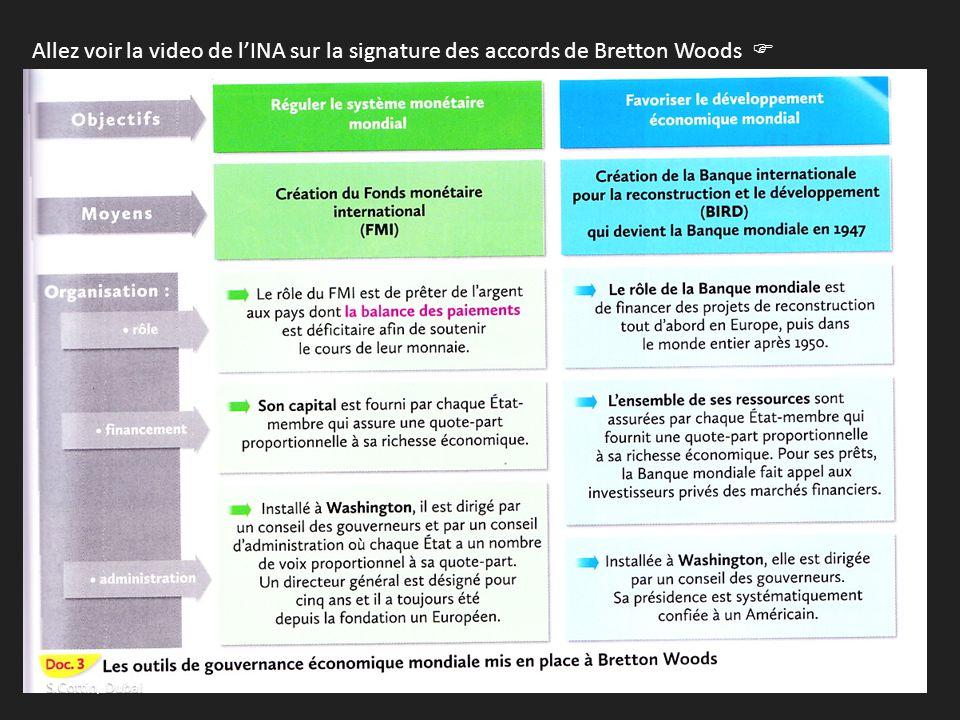 Allez voir la video de l'INA sur la signature des accords de Bretton Woods  http://www.ina.fr/video/I11052345