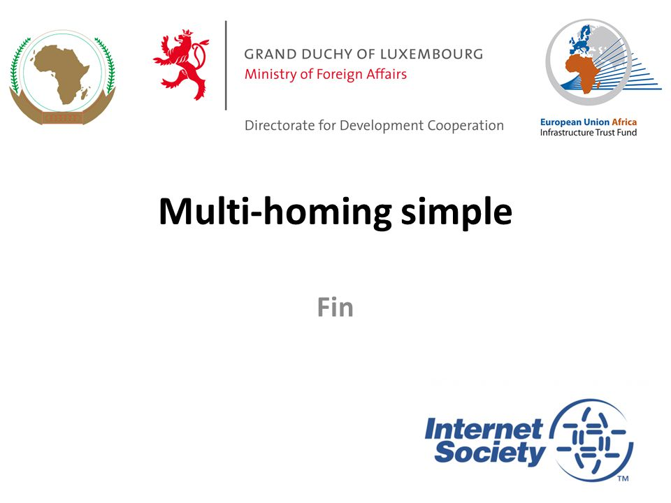 Multi-homing simple Fin