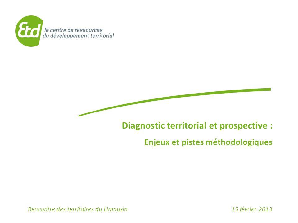Diagnostic territorial et prospective :