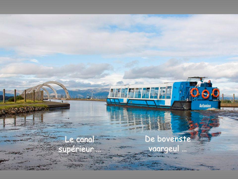 De bovenste vaargeul … Le canal supérieur …