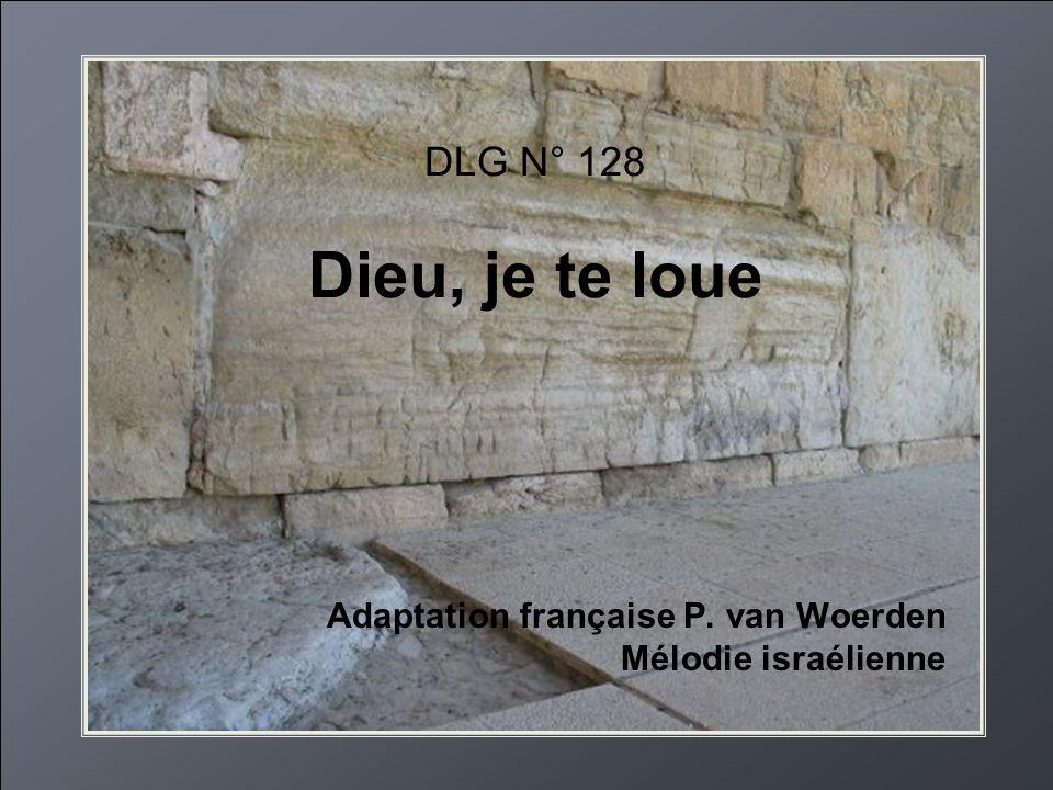 Adaptation française P. van Woerden Mélodie israélienne