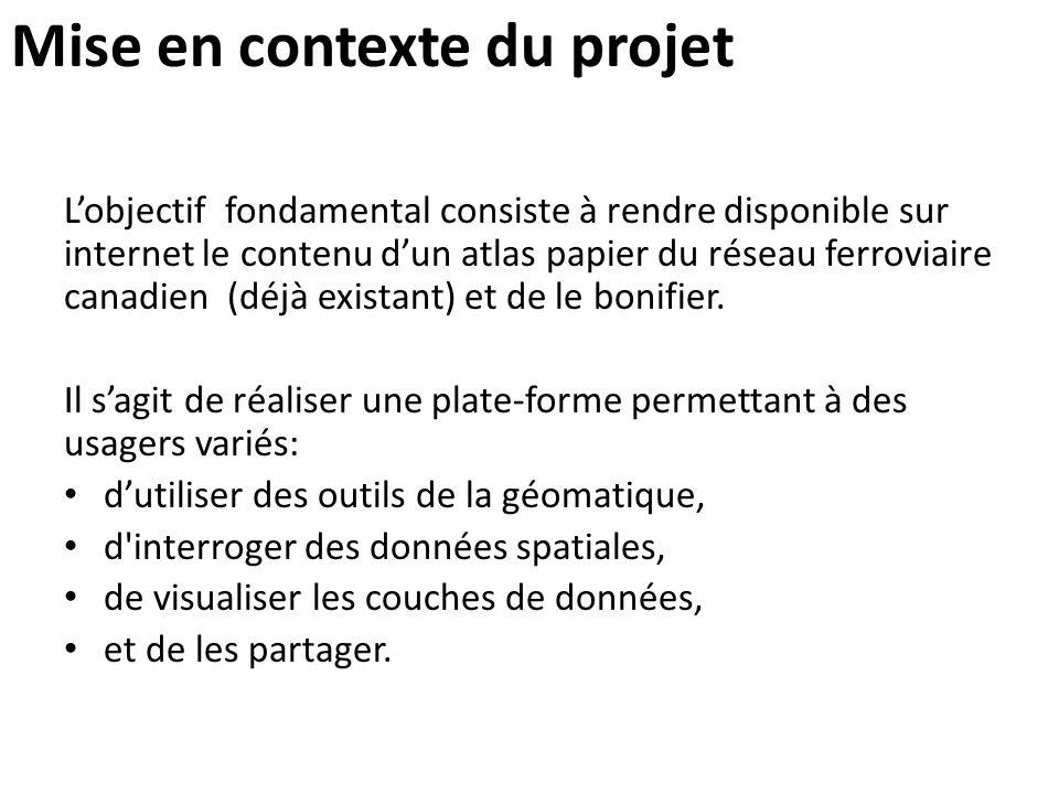 Mise en contexte du projet