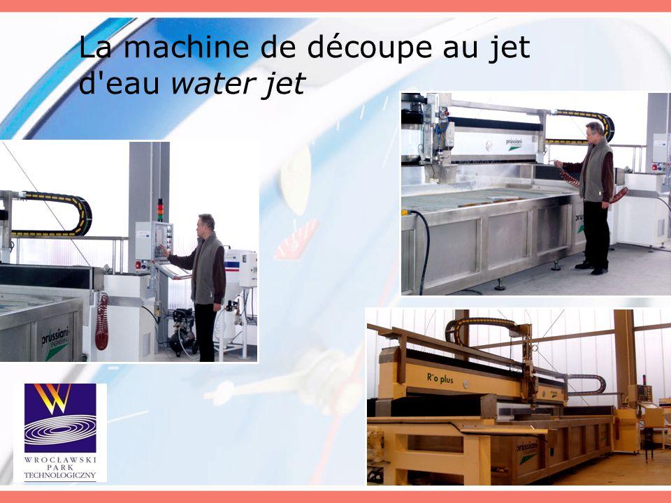 La machine de découpe au jet d eau water jet