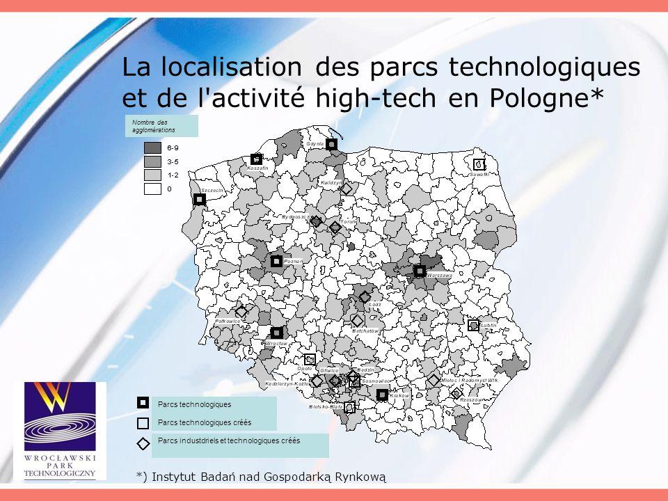 La localisation des parcs technologiques et de l activité high-tech en Pologne*
