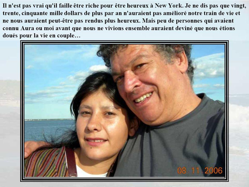 Il n est pas vrai qu il faille être riche pour être heureux à New York